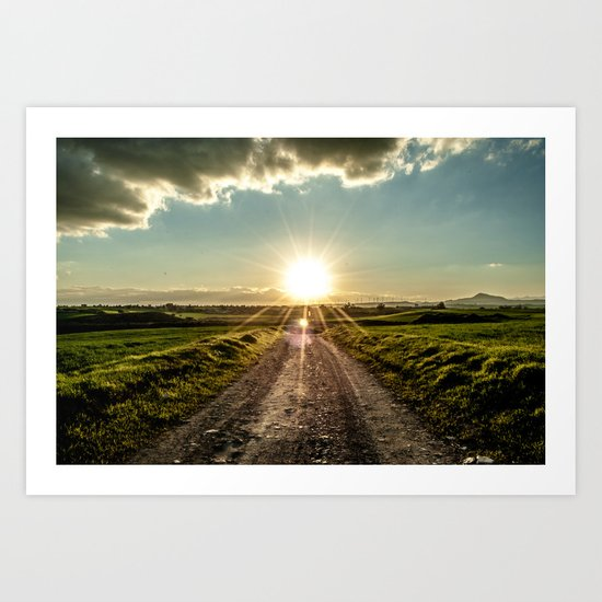 Find your way home Art Print