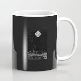 The Moon Tarot Card Coffee Mug
