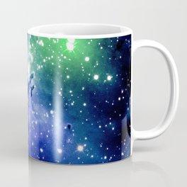 Eagle Nebula Blue Green Coffee Mug