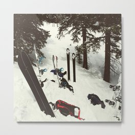 Backcountry Metal Print