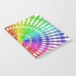 Rainbow Mandala Notebook