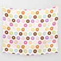 Happy Cute Donuts Pattern by mycutelobster