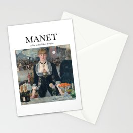 Manet - A Bar at the Folies-Bergère Stationery Cards