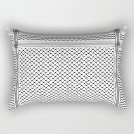 BLACK KOFIA Rectangular Pillow