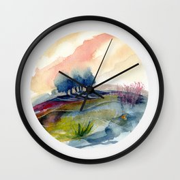 genius Loci 4 Wall Clock