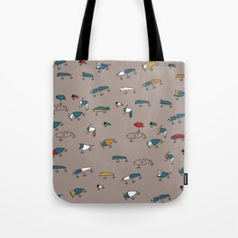 Brown Lures Tote Bag