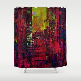 Find his way  Shower Curtain