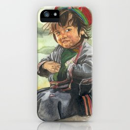 Little sherpa iPhone Case
