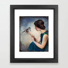 The Key to Wonderland Framed Art Print