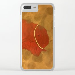 Clown Clear iPhone Case