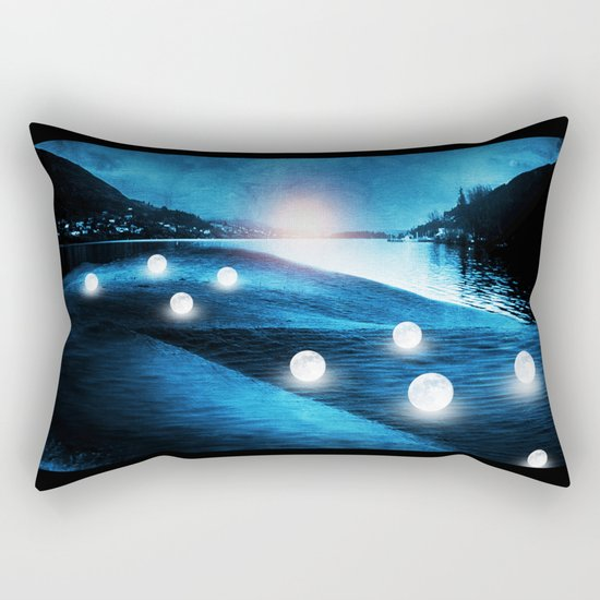 Field of lights Rectangular Pillow