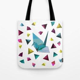 Origami carnival Tote Bag