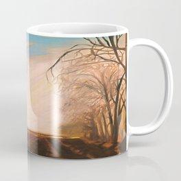 """""""traffic"""" Vintage Landscape Coffee Mug"""