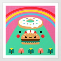Hungry Mountain Art Print