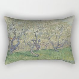 Orchard in Blossom Rectangular Pillow