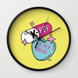 K-POP is my Drug Wall Clock