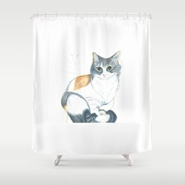 Lovely Mazapan Shower Curtain