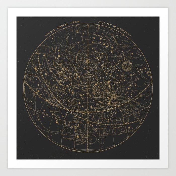 Visible Heavens - Dark Kunstdrucke