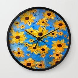 seeds sown Wall Clock