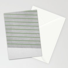 Concrete & Stripes II Stationery Cards