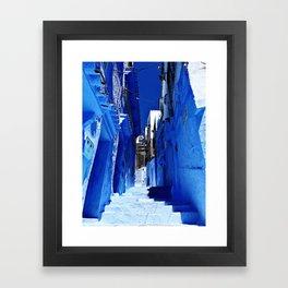Chaouen stairs Framed Art Print