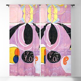 "Hilma af Klint ""The Ten Largest, No. 06, Adulthood, Group IV"" Blackout Curtain"