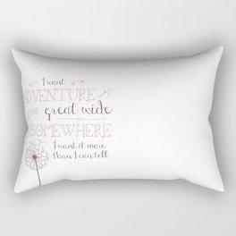 Great Wide Somewhere Rectangular Pillow