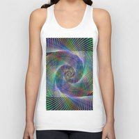 fractal Tank Tops featuring Fractal by David Zydd