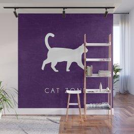 CAT ZONE Wall Mural