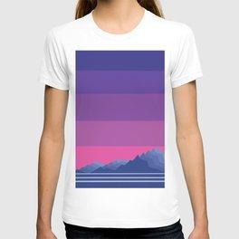 Sunset Mountain Range T-shirt