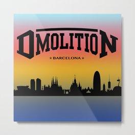 DMolition Sports Metal Print