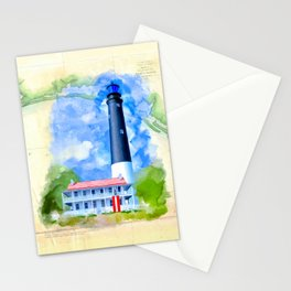 Vintage Florida Panhandle - Pensacola Lighthouse Stationery Cards
