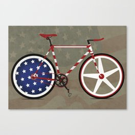 Bike America Canvas Print