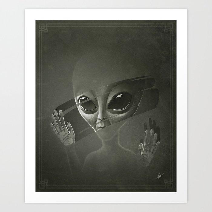 Alien Kunstdrucke