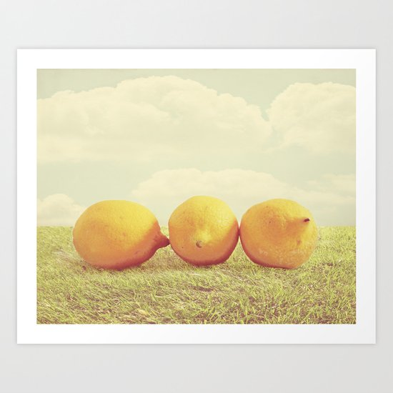 Lemongrass Art Print