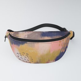 Vernal Abstract Painting Fanny Pack