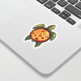 pizza turtle Sticker
