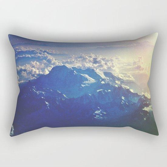 Wild Motion Rectangular Pillow