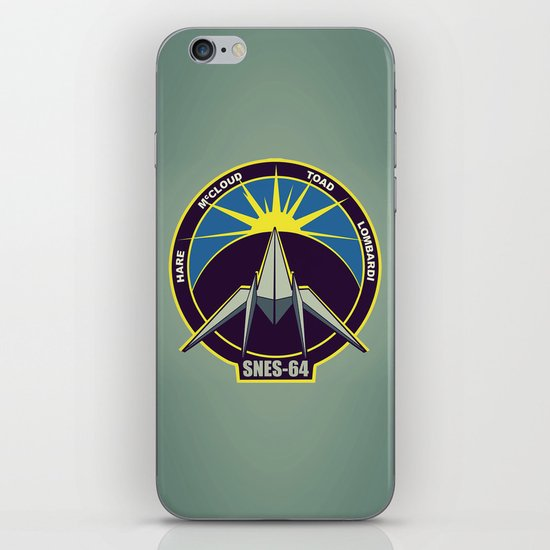 The Lylat Space Academy iPhone & iPod Skin