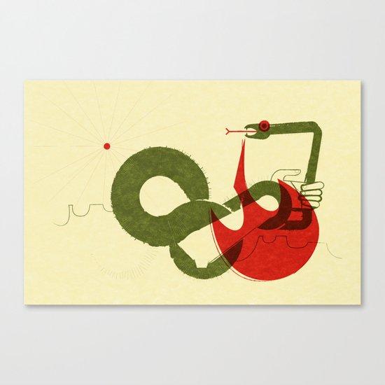 Viper Bite (by Scotty Reifsnyder) Canvas Print