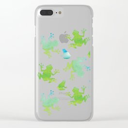 Kva Clear iPhone Case