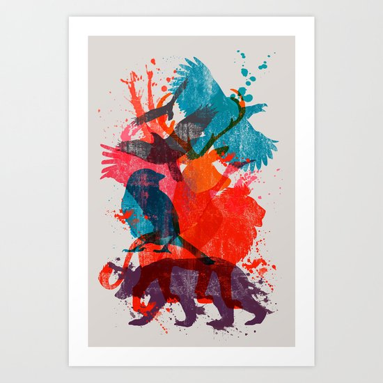 It's A Wild Thing Art Print
