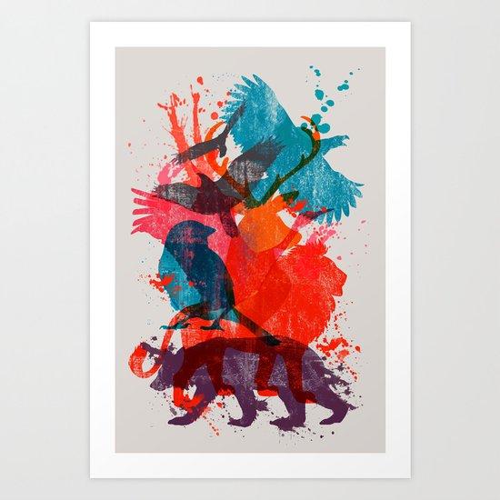 It's A Wild Thing Art Print
