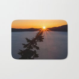 Sunset Tree Top Bath Mat