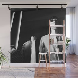 Mannequin display || black and white fashion photography || SINGAPORE Wall Mural
