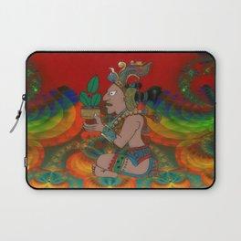Yucatan Psychedelic Mexicano Visiones Laptop Sleeve