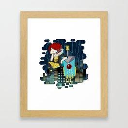 Transistor Welcome to Cloudbank Framed Art Print