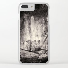 THE RIDE VINTAGE Clear iPhone Case