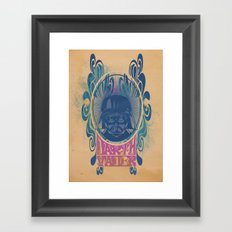 Psychedelic Vader Framed Art Print