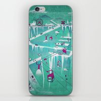 penguins iPhone & iPod Skins featuring Penguins by Spires